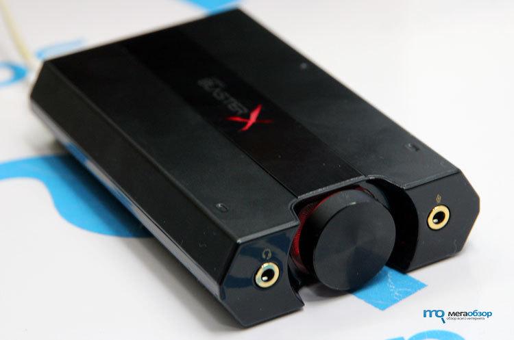 Обзор Creative Sound BlasterX G5  Внешняя звуковая карта с