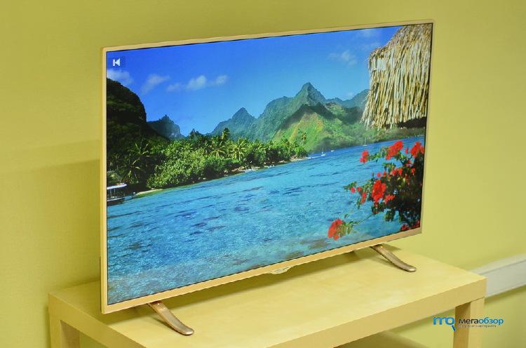 Обзор DEXP F43B8000K. Тонкий, современный и умный телевизор - Mega ...