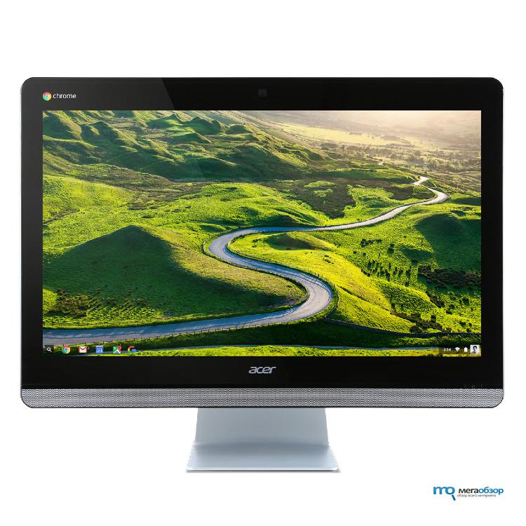 Моноблок Acer Aspire Z24-880 (DQ.B8VER.003) i3-7100T (3.4)/4GB/1TB/23.8