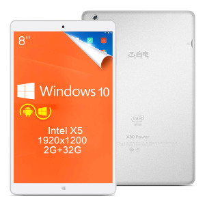 Teclast X80 Power - версия планшета в металле