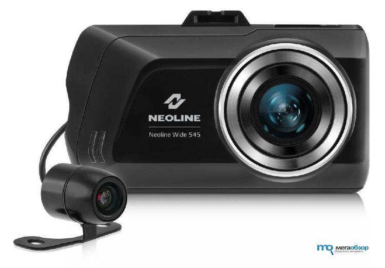 Видеорегистратор neoline с 2 камерами